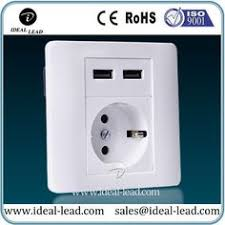 ls with usb outlets 2017 direct selling sale limited double usb german wall socket