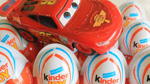 kinder surprise cars 2 lightning mcqueen kinder joy surprise eggs