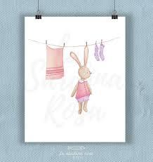 affiche chambre enfant affiche lapin déco chambre bébé affiche enfant illustration