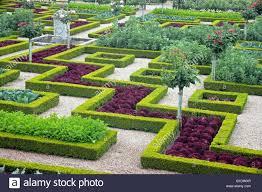 chateau de villandry ornamental vegetable garden loire valley