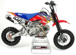 top motocross bikes chris gosselaar u0027s bbr honda crf 50 bbr crf50 pitbike le top