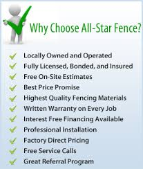Estimates For Fence Installation by All Fence Company Spokane