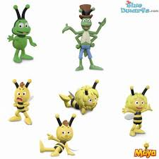 27000 27005 2017 maya bee 6 figurines bluedwarfs