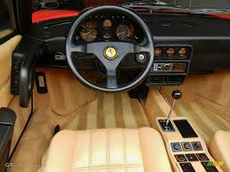 ferrari dashboard 1989 ferrari 328 gts tan dashboard photo 67120496 gtcarlot com