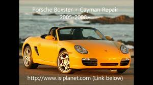 porsche boxster repair manual boxster cayman 987 2005 2008 repair manuals and quality parts