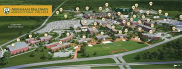 Georgia State University Campus Map by Campus Map Abraham Baldwin Agricultural College