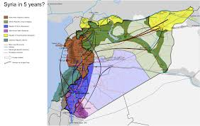 Syria In World Map by Syria In 5 Years A Balkanisation Hypothesis 1456x921