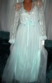 wedding peignoir sets 70s peignoir set white lace negligee bridal 1970s