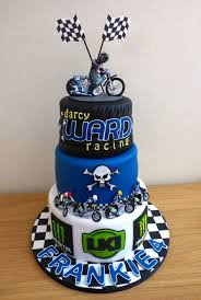 darcy ward poole pirates speedway themed 3 tier birthday cake