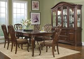 oak dining room sets with china cabinet vintage stanley dining room furniture seattle outdoor art