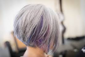 highlights for gray hair photos welcome colour player natural gray hair with peek a boo bright