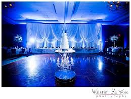 wedding backdrop blue backdrop room drapery wedding flowers and decorations