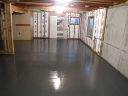 paint concrete floor before laminate recommended painted