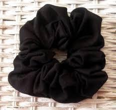 hair scrunchy black cotton jersey cotton hair scrunchy hair scrunchies s