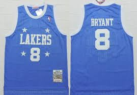 lakers light blue jersey men s los angeles lakers 8 kobe bryant 2004 05 light blue hardwood
