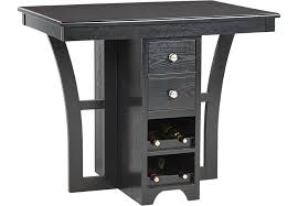 Rooms To Go Dining Room by Ellwood Black Bar Height Dining Table Dining Tables Colors