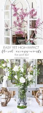 idã e deco mariage high impact florals 5 tips for easy flower arrangements idee