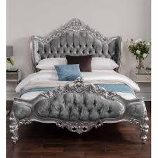 Antique Style Bed Frame Bedroom Bedroom Simple White Shabby Chic Taste Beds Uk Vintage