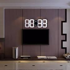 Design Clock by Aliexpress Com Buy Modern Design Remote Control Digital Led Wall