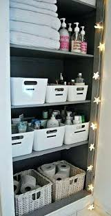 bathroom closet storage ideas bathroom closet organizer ideas bearingtheburden