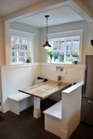 Kitchen Nook Table Ideas Dining Room Booth Style Seating Contemporary Kitchen Nook Design