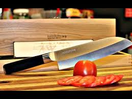 kamikoto santoku chef knife unboxing and review knife review