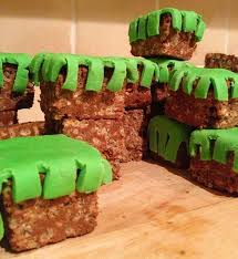 minecraft crispy cakes eats world