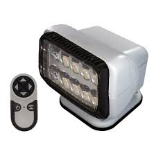 go light magnetic base golight led stryker searchlight with wireless handheld remote