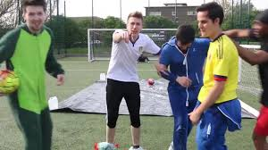 Challenge W2s Slip N Slide Football Challenge Coub Gifs With Sound