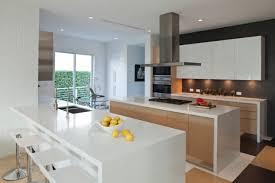 cuisine design blanche design blanche bois