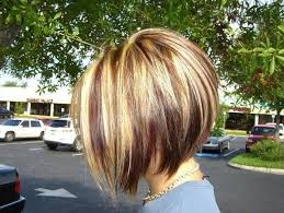 hair cuts with red colour 2015 inverted bob with blonde brown highlights bob haircuts 2015