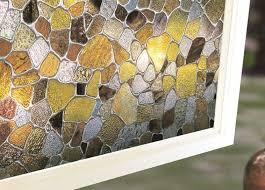 Decorative Window Film Stained Glass Decorative Window Films Budget Blinds