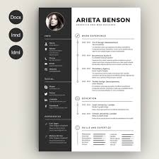 Resume Sample Graphic Designer Find The Best Photoshop Resume Template Here