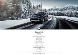 lexus usa models lexus lx serie i on behance