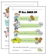 20 awesome money worksheets all kids network