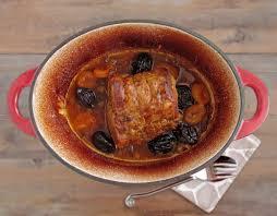 cuisine roti de porc en cocotte rôti de porc mijoté en cocotte façon grand mère les épices rient
