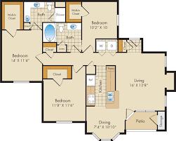 floor plans the park at riverdale apartments