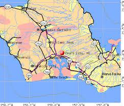 map of hawaii cities pearl city hawaii hi 96782 profile population maps real