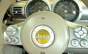 jeep steering wheel emblem 2005 jeep rescue concept road test review truck trend