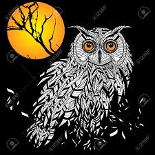 Halloween Owls Owl Tattoo Stock Photos U0026 Pictures Royalty Free Owl Tattoo Images