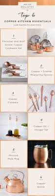 knots wedding registry tying the knot these copper kitchen essentials are wedding