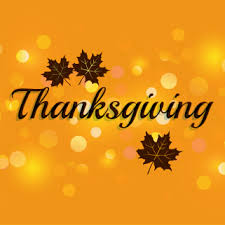 thanksgiving november 22 through november 24 2017