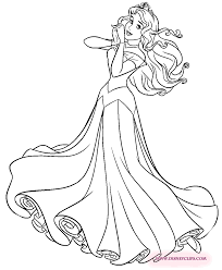 aurora coloring pages princess aurora coloring page pinterest