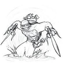 ninja turtles coloring pages raphael lego teenage mutant printable