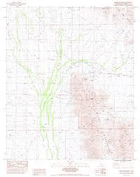 Joshua Tree California Map Topographic Maps Of Riverside County California