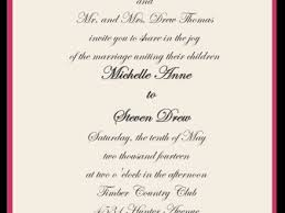 what to say on wedding invitations wedding invitation verbiage wording wedding invitation verbiage