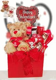 balloon and candy bouquets large s day gift basket for teddy with