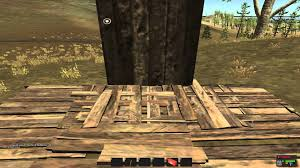 rust alpha crafting system basics house building and blueprints