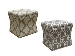 Nailhead Storage Ottoman Nailhead Trim Storage Ottomans In The Target Clearance