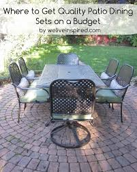 Solana Bay 7 Piece Patio Dining Set - martha stewart solana bay patio furniture